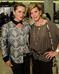Lauren Lucas and Trish Millard at a Dress for Dinner event featuring shoe designer Edgardo Osorio at Saks Fifth Avenue Wednesday Oct. 28, 2015.(Dave Rossman photo)