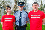 Matathon Runners: Kerry Crusaders membersfrom Listowel  Tena Griffin, Garda Declan McDonagh & Eamonn Egan who intend to complete running 15 marathons in 2015.