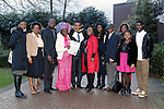 REPRO FREE<br /> 21/01/2015<br /> David Idioh, Raheen, Limerick, MA Community Music Irish World Academy of Music and Dance at the University of Limerick pictured with his proud family as the University of Limerick continues three days of Winter conferring ceremonies which will see 1831 students conferring, including 74 PhDs. <br /> UL President, Professor Don Barry highlighted the increasing growth in demand for UL graduates by employers and the institution&rsquo;s position as Sunday Times University of the Year. <br /> Picture: Don Moloney / Press 22