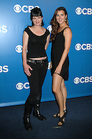 Pauley Perrette and Cote de Pablo at the 2012 CBS Upfront at The Tent at Lincoln Center on May 16, 2012 in New York City. © RW/MediaPunch Inc.