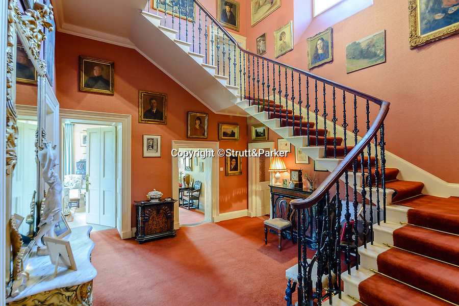 BNPS.co.uk (01202 558833)<br /> Pic: Strutt&Parker/BNPS<br /> <br /> The accommodation is arranged over four levels<br /> <br /> A stunning castle that once belonged to. swashbuckling sailor who killed the real-life Jack Sparrow has gone on the market for offers over £1.9m.<br /> <br /> Coupland Castle in Northumberland is Grade I listed and is steeped in history dating back to the 12th century.<br /> <br /> It's Pele Tower was the last fortified building to be constructed in the Border area and before that the land on which it was built belonged to Sir John de Coupland, who captured the Scottish King at the Battle of Neville's Cross in 1346.<br /> <br /> During the 18th century a separate farmhouse was added to the south-west of the now L-shaped tower and it was sold in 1713 to Sir Chaloner Ogle.