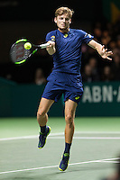 ABN AMRO World Tennis Tournament, Rotterdam, The Netherlands, 19 Februari, 2017, David Goffin (BEL)<br /> Photo: Henk Koster