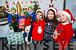 Pupils at Tralee CBS primary School getting ready for Christmas, from left: Jamie Ward, Rian Duffy, Adam Wolinski, Milly Lynch, Aoife O'Connell and Tegan Leen.