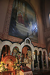 Israel, Jerusalem, the feast of Mary Magdalene at the Russian Orthodox Church of Mary Magdalene on the Mount of Olives