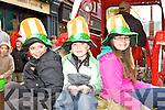 Colin, Ryan and Georgina Wharton ..at the Killarney St Patricks Day parade on Sunday ..