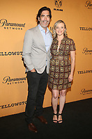 LOS ANGELES, CA - JUNE 11: Carter Oosterhouse, Amy Smart, at the premiere of Yellowstone at Paramount Studios in Los Angeles, California on June 11, 2018. <br /> CAP/MPI/FS<br /> &copy;FS/MPI/Capital Pictures