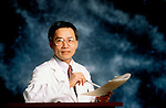 portrait of Asian doctor