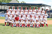 June 30th, 2007:  The Batavia Muckdogs team photo, Short-Season Class-A affiliate of the St. Louis Cardinals at Dwyer Stadium in Batavia, NY.  Photo by:  Mike Janes/Four Seam Images