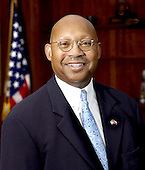 Washington, D.C. - OFFICIAL PORTRAIT OF U.S. SECRETARY OF HOUSING AND URBAN DEVELOPMENT ALPHONSO JACKSON -- Secretary Alphonso Jackson is guiding the U.S. Department of Housing and Urban Development (HUD) in its mission of providing affordable housing and promoting economic development, an assignment to which he brings more than 25 years of direct experience in both the private and public sectors.  In nominating Jackson, President George W. Bush chose a leader with a strong background in housing and community development, expertise in finance and management, and a deep commitment to improving the lives of all Americans.<br /> Alphonso Jackson first joined the Bush Administration in June of 2001 as HUD's Deputy Secretary and Chief Operating Officer. As Deputy Secretary, Jackson managed the day-to-day operations of the $32 billion agency and instilled a new commitment to ethics and accountability within HUD's programs and among its workforce and grant partners.  The U.S. Senate unanimously confirmed Jackson as the nation's 13th Secretary of HUD on March 31, 2004.  Immediately preceding his appointment at HUD, Jackson served as President of American Electric Power-TEXAS, a $13 billion utility company located in Austin, Texas.  From January 1989 until July 1996, Secretary Jackson was President and CEO of the Housing Authority of the City of Dallas, Texas, which consistently ranked as one of the best-managed large-city housing agencies in the country during his tenure. Prior to that, Secretary Jackson was Director of the Department of Public and Assisted Housing in Washington, D.C., and also served as Chairperson for the District of Columbia Redevelopment Land Agency Board.  In 1977, Jackson became the Director of Public Safety for the City of St. Louis. Jackson also served as executive director for the St. Louis Housing Authority, a director of consultant services for the certified public accounting firm of Laventhol and Horwath-St. Louis, and special assistant to the chancel