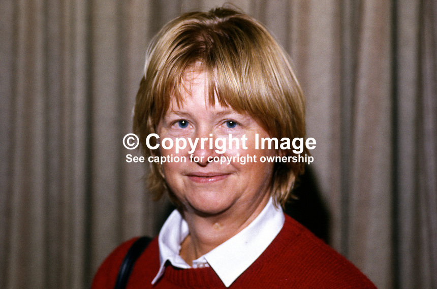 Anne Sofer, prominent member, SDP, Social Democratic Party, UK, 19840109AS1.<br />