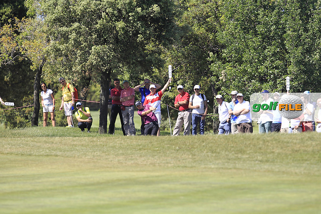 James Morrison (ENG) on the 16th fairway during Round 4 of the Open de Espana  in Club de Golf el Prat, Barcelona on Sunday 17th May 2015.<br /> Picture:  Thos Caffrey / www.golffile.ie