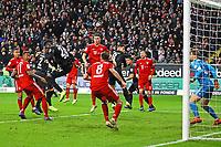 Ausgleichschance per Hackentrick von Danny da Costa (Eintracht Frankfurt) - 22.12.2018: Eintracht Frankfurt vs. FC Bayern München, Commerzbank Arena, DISCLAIMER: DFL regulations prohibit any use of photographs as image sequences and/or quasi-video.