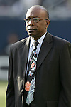 21 June 2007:  CONCACAF president Jack Warner, pregame. The United States Men's National Team defeated the national team of Canada 2-1 in a CONCACAF Gold Cup Semifinal match at Soldier Field in Chicago, Illinois.