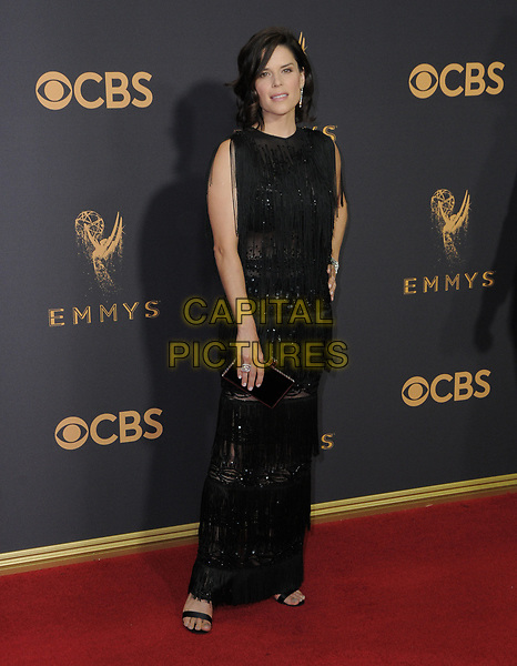 17 September  2017 - Los Angeles, California - Neve Campbell. 69th Annual Primetime Emmy Awards - Arrivals held at Microsoft Theater in Los Angeles. <br /> CAP/ADM/BT<br /> &copy;BT/ADM/Capital Pictures