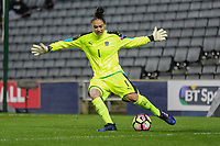 Goalkeeper Manuela Zinsberger (FC Bayern Munich) of Austria Women during the Women's Friendly match between England Women and Austria Women at stadium:mk, Milton Keynes, England on 10 April 2017. Photo by PRiME Media Images / David Horn.