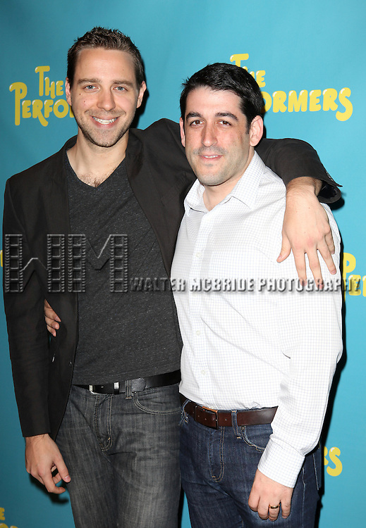 "Playwright David West Read and director Evan Cabnet attends press event to introduce the cast and creators of the new Broadway play ""The Performers""at the Hard Rock Cafe on Tuesday, Sept. 25, 2012 in New York."