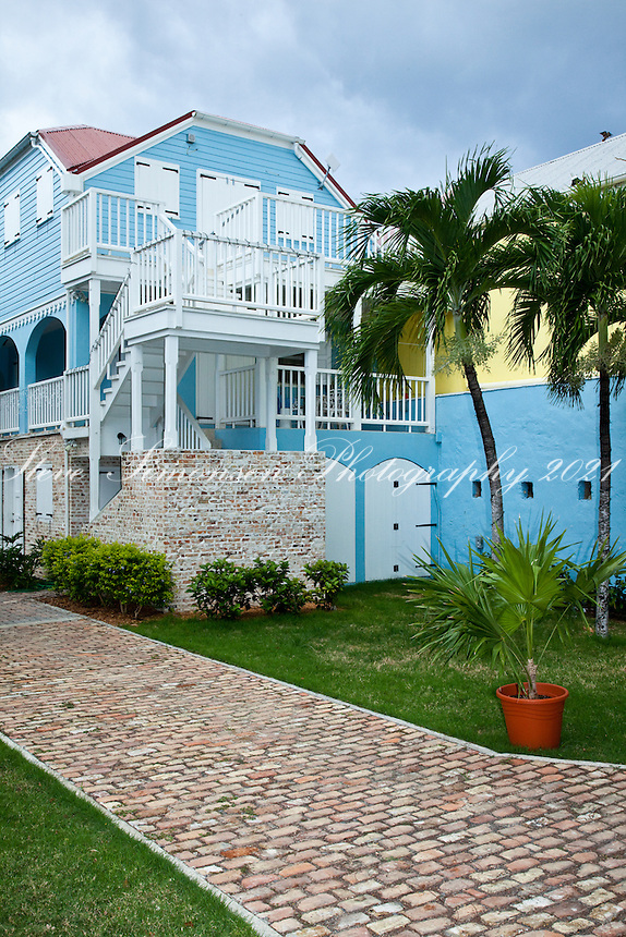 Local architecture<br /> Fredericksted, St Croix<br /> US Virgin Islands