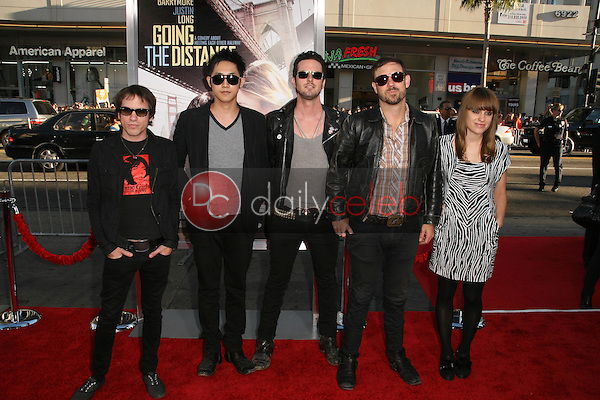 """The Airborne Toxic Event<br /> at the """"Going The Distance"""" Los Angeles Premiere, Chinese Theater, Hollywood, CA. 08-23-10<br /> David Edwards/Dailyceleb.com 818-249-4998"""