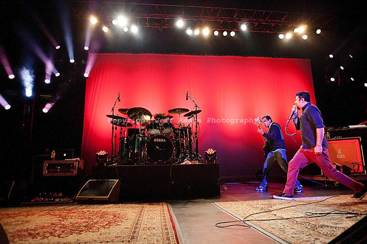 Deftones live concert at Verizon Theatre on June 6, 2011 in Grand Prairie, TX.