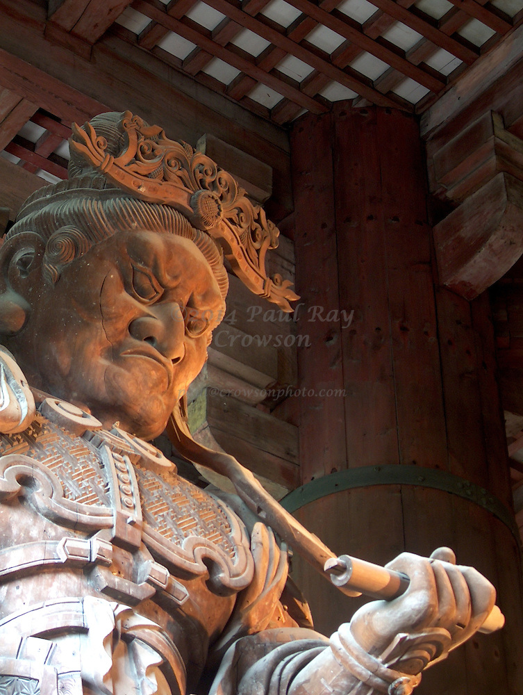 Todai-ji, in Nara, The Lawyer - giant wooden statue