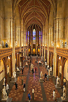 Berlin, Germany.  Friedrichswerdersche Kirche, built by K. F. Schinkel in neogothic style between 1824 and 1831.  Now a museum of sculpture and designs related to Schinkel?s projects.
