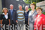 Some of the group behind plans to commemorate Daniel O'Connell as part of the Gathering 2013, pictured here l-r; Philomena O'Connor, John Griffin, James O'Shea, Junior Murphy, Mary O'Connor & Marie White.