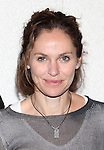 """Amy Brenneman.attending the Meet & Greet for the Playwrights Horizons production of """"Rapture, Blister, Burn'  at their rehearsal studio in New York City on 4/17/2012"""