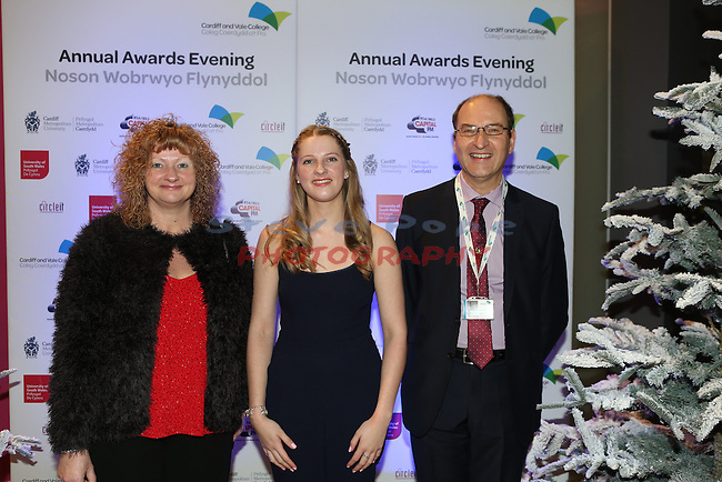 Cardiff and Vale College Awards Evening.<br /> 09.12.15<br /> &copy;Steve Pope - Fotowales