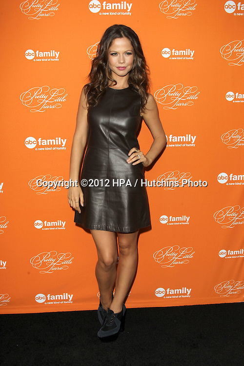 "LOS ANGELES - OCT 16:  Tammin Sursok arrives at  ""Pretty Little Liars"" Special Halloween Episode Screening at Hollywood Forever Cemetery on October 16, 2012 in Los Angeles, CA"