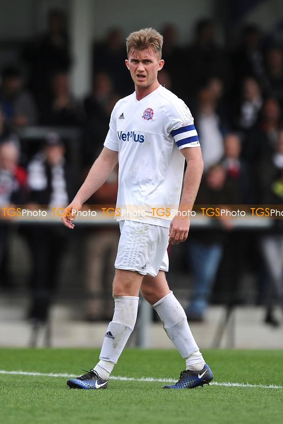 Josh Langley of AFC Fylde during AFC Fylde vs Bradford Park Avenue, Vanarama National League North Football at Mill Farm on 17th April 2017
