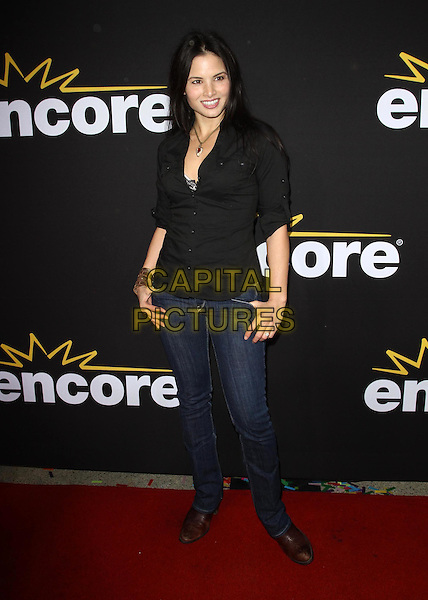 "Katrina Law.Premiere Of Encore's ""Method To The Madness Of Jerry Lewis"" Held At The Paramount Studios lot, Los Angeles, California, USA..December 7th, 2011.full length black shirt jeans denim.CAP/ADM/KB.©Kevan Brooks/AdMedia/Capital Pictures."