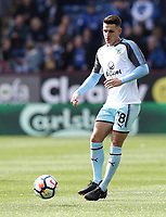 Burnley's Ashley Westwood during the pre-match warm-up <br /> <br /> Photographer Rich Linley/CameraSport<br /> <br /> The Premier League - Burnley v Leicester City - Saturday 14th April 2018 - Turf Moor - Burnley<br /> <br /> World Copyright &copy; 2018 CameraSport. All rights reserved. 43 Linden Ave. Countesthorpe. Leicester. England. LE8 5PG - Tel: +44 (0) 116 277 4147 - admin@camerasport.com - www.camerasport.com
