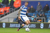 Geoff Cameron of Queens Park Rangers during Queens Park Rangers vs Derby County, Sky Bet EFL Championship Football at Loftus Road Stadium on 6th October 2018