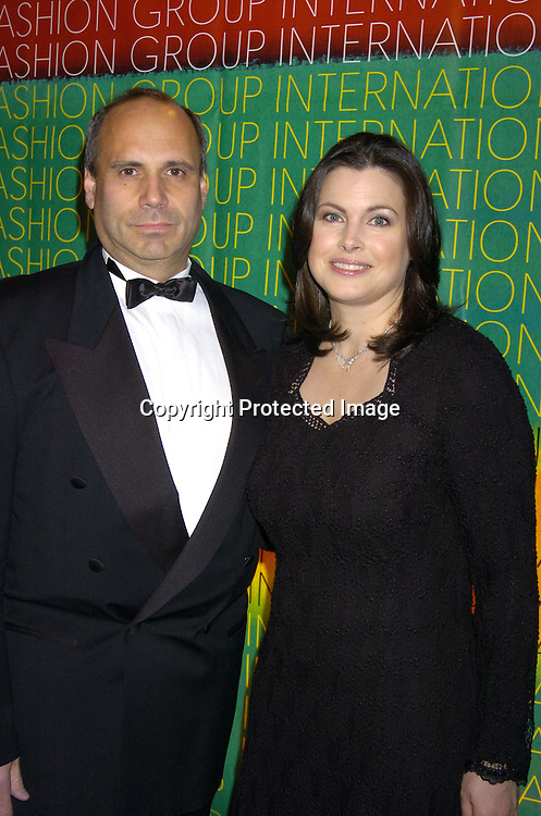 Richard Roberts and wife Cynthia Steffe..at the Fashion Group International's 21st Annual Night of ..Stars on October 28, 2004 at Cipriani 42nd Street in New York City. ..Photo by Robin Platzer, Twin Images