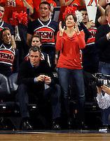 Virginia fans cheer during an NCAA basketball game Saturday Feb, 24, 2014 in Charlottesville, VA. Virginia defeated Miami 65-40.