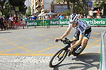 Bora-Hansgrohe including Irish Champion Sam Bennett (IRL) recon Stage 1 of La Vuelta 2019, a team time trial running 13.4km from Salinas de Torrevieja to Torrevieja, Spain. 24th August 2019.<br /> Picture: Eoin Clarke | Cyclefile<br /> <br /> All photos usage must carry mandatory copyright credit (© Cyclefile | Eoin Clarke)