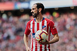 Atletico de Madrid's Juanfran Torres during La Liga match between Atletico de Madrid and CD Leganes at Wanda Metropolitano stadium in Madrid, Spain. March 09, 2019. (ALTERPHOTOS/A. Perez Meca)