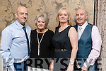 David Stone, Carol Stone Patsy Stone and Frank Stone, enjoying the Kerins Park 50th anniversary social held at The Rose Hotel, Tralee, on Saturday night last.