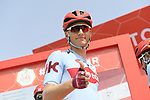 Marcel Kittel (GER) Team Katusha Alpecin at sign on before the start of Stage 2 of the 2019 UAE Tour, running 184km form Yas Island Yas Mall to Abu Dhabi Breakwater Big Flag, Abu Dhabi, United Arab Emirates. 25th February 2019.<br /> Picture: LaPresse/Fabio Ferrari | Cyclefile<br /> <br /> <br /> All photos usage must carry mandatory copyright credit (© Cyclefile | LaPresse/MFabio Ferrari)