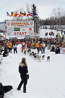 Gerald Sousa Willow restart Iditarod 2008.