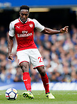 Arsenal's Danny Welbeck in action during the premier league match at Stamford Bridge Stadium, London. Picture date 17th September 2017. Picture credit should read: David Klein/Sportimage