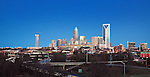 The Charlotte NC Skyline 2012