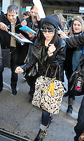 NRJ Music Awards 2013 - Celebs arriving at Nice Airport - France