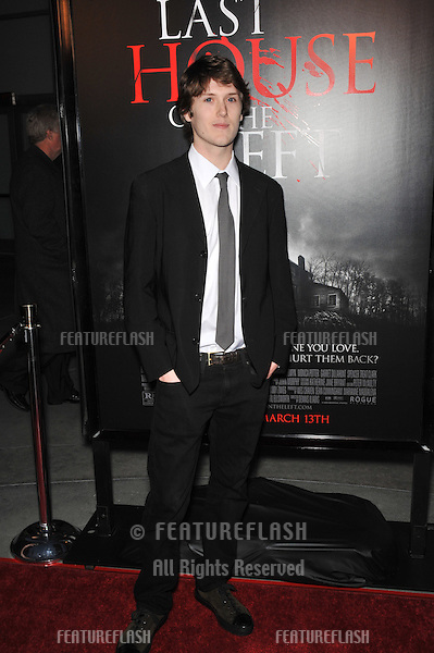 "Spencer Treat Clark at the world premiere of his new movie ""The Last House on the Left"" at the Arclight Theatre, Hollywood..March 10, 2009  Los Angeles, CA.Picture: Paul Smith / Featureflash"