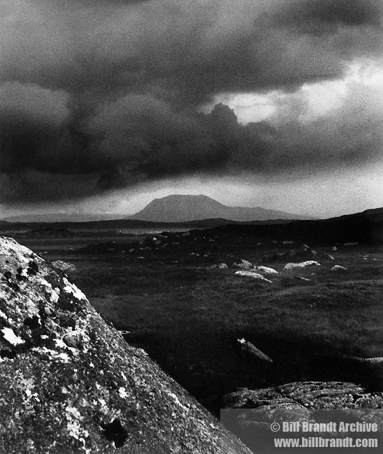 Rocks near Lettermere, Connemara 1940s