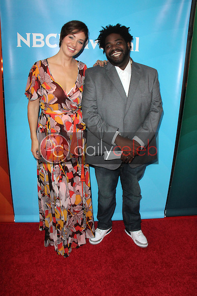 Bianca Kajlich, Ron Funches<br />