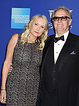 PALM SPRINGS, CA - JANUARY 02: Actor Peter Fonda (R) and wife Margaret DeVogelaere arrive at the 29th Annual Palm Springs International Film Festival Film Awards Gala at Palm Springs Convention Center on January 2, 2018 in Palm Springs, California.