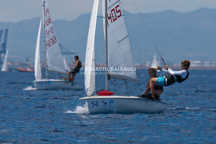 Mundial de 420 Open and Ladies Worlds Championship - Real Club Náutico de Valencia