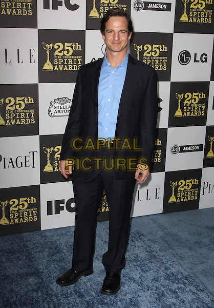WILLIAM MAPOTHER .25th Annual Film Independent Spirit Awards held At The Nokia LA Live, Los Angeles, California, USA,.March 5th, 2010 ..arrivals Indie Spirit full length blue shirt navy suit .CAP/ADM/KB.©Kevan Brooks/Admedia/Capital Pictures