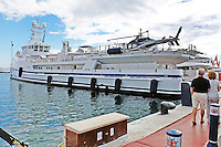 GARÇON - Fast Yacht Support Vessel 6711 - moored at Puerto Banus, Marbella, Spain, October, 2015, 201510141723<br />